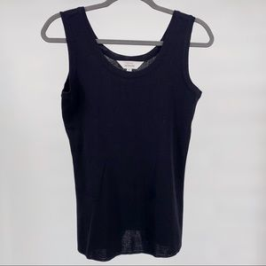 Exclusively MISOOK Knit Shell Tank Top Sleeveless